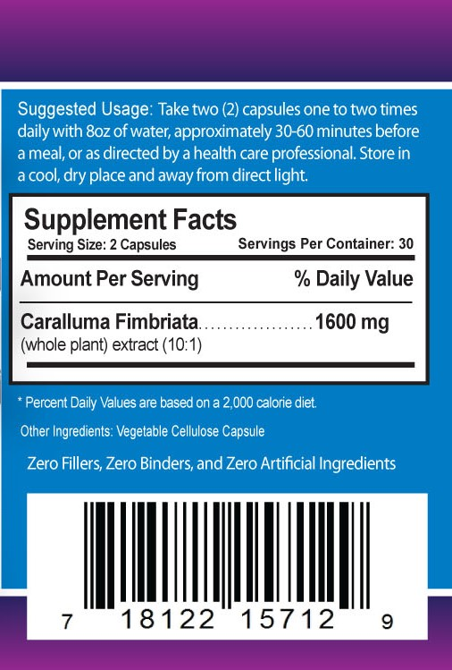 caralluma fimbriata supplements 1600mg dailyhealth weight loss