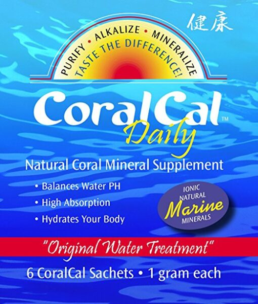 coralcal daily sachet balance water ph hydrate drink packet teabag