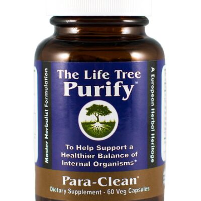 Purify para clean the life tree internal organisms herbal cleanse