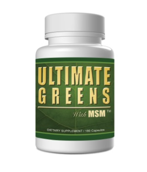 ultimate greens with msm 180 capsules super green grasses vegetables supplement