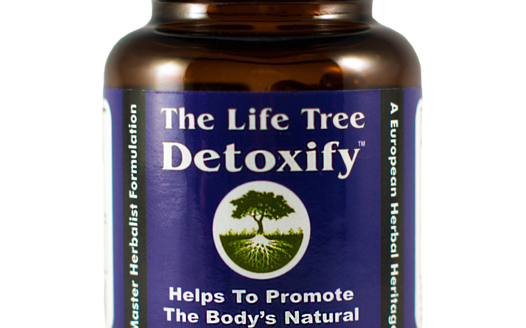 The Life Tree Detoxify Liver and Kidney Herbal Natural Detox Cleanse 60 Liquid Capsules