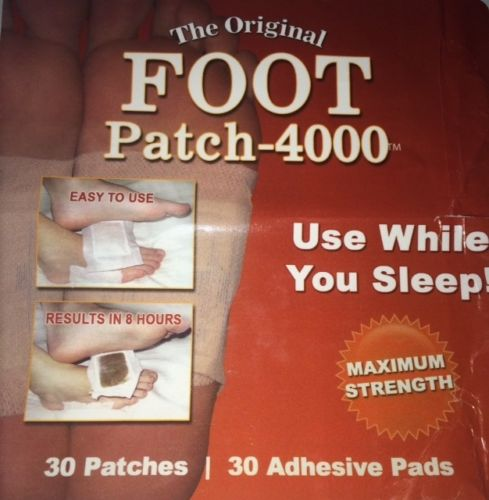 detox foot patch pads whole body detoxify