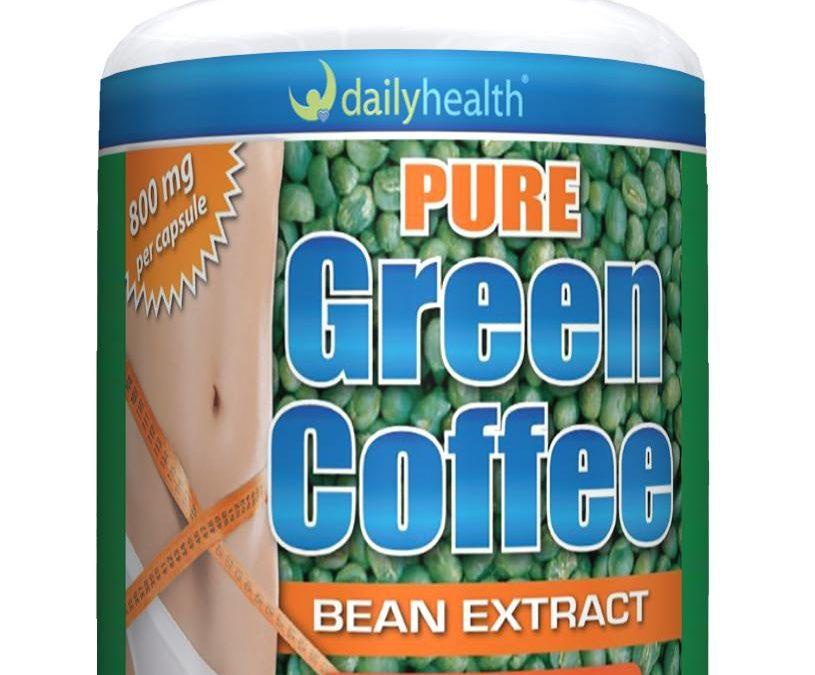 Pure Green Coffee Bean Extract GCA 800mg 60 capsules