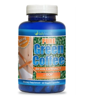 Pure green coffee bean gca chlorogenic acid weight loss
