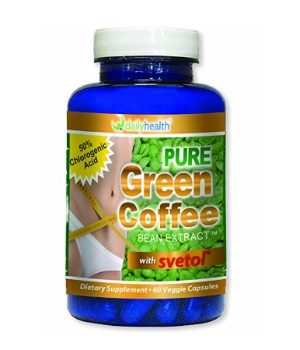Super Green Coffee Bean Extract 800mg With Svetol 60 Capsule