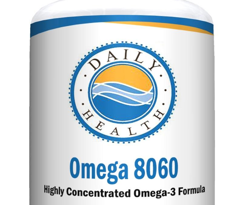 Omega 8060 Fish Oil 2400mg 60 soft gels High Grade Omega 3