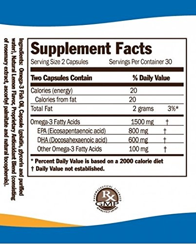 omega 8060 capsules supplement facts