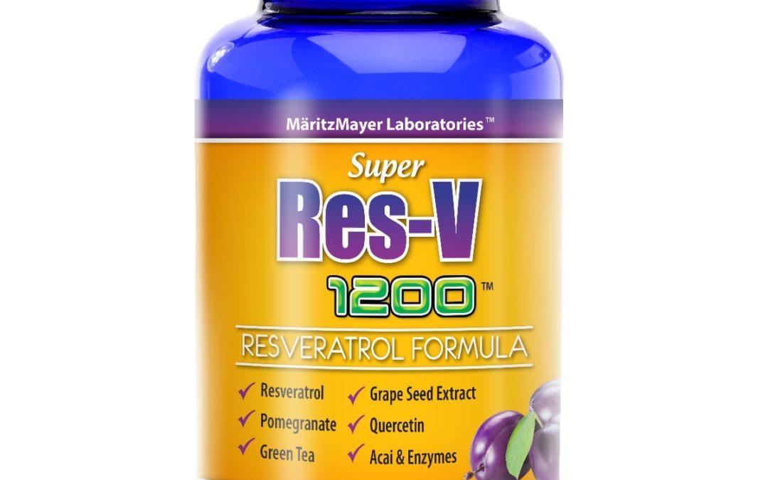 Super Res-V 1200 Resveratrol Supreme Formula 60ct