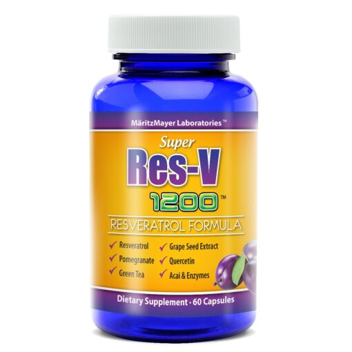 res-v resv resveratrol maritzmayer grape seed extract green tea
